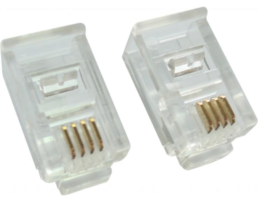 Modular Plug Long 6P6C