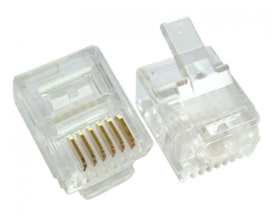 Modular Plug RJ12 6P8C