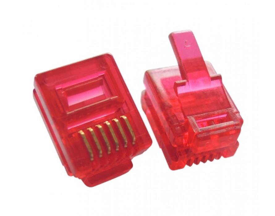Modular Plug Grooves 6P6C