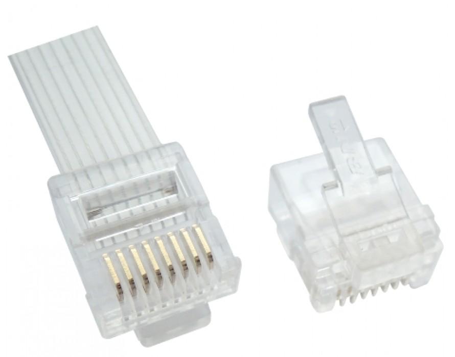 Modular Plug Short 8P8C Slim Cable