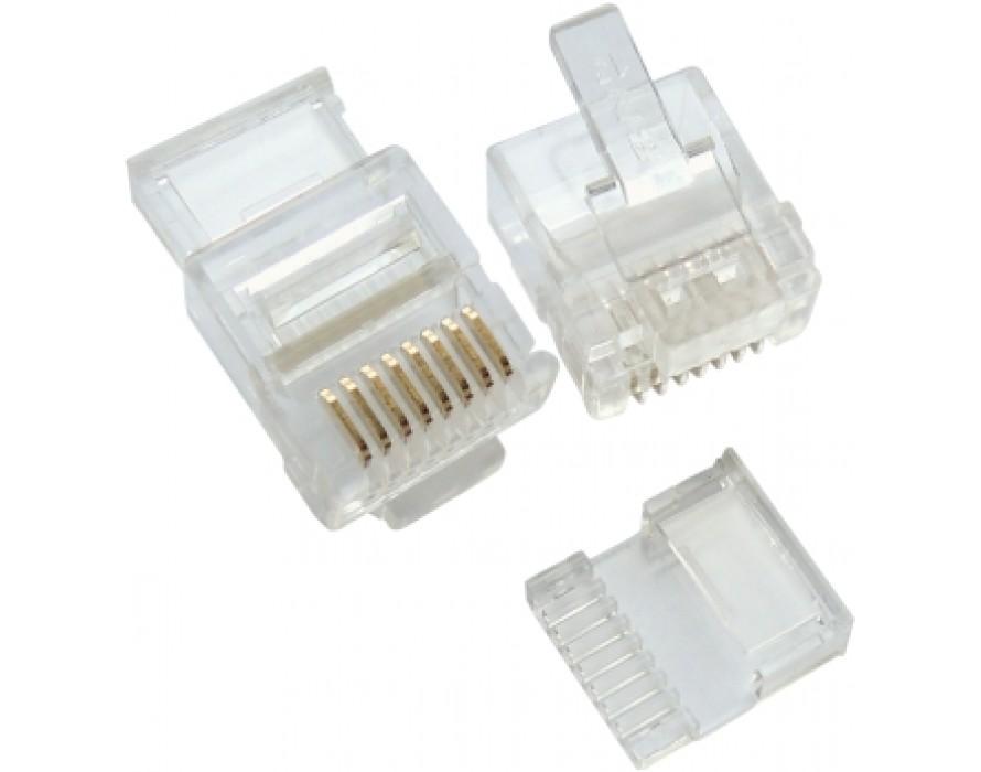 Modular Plug Short RJ45/Insert J for Slim Wires