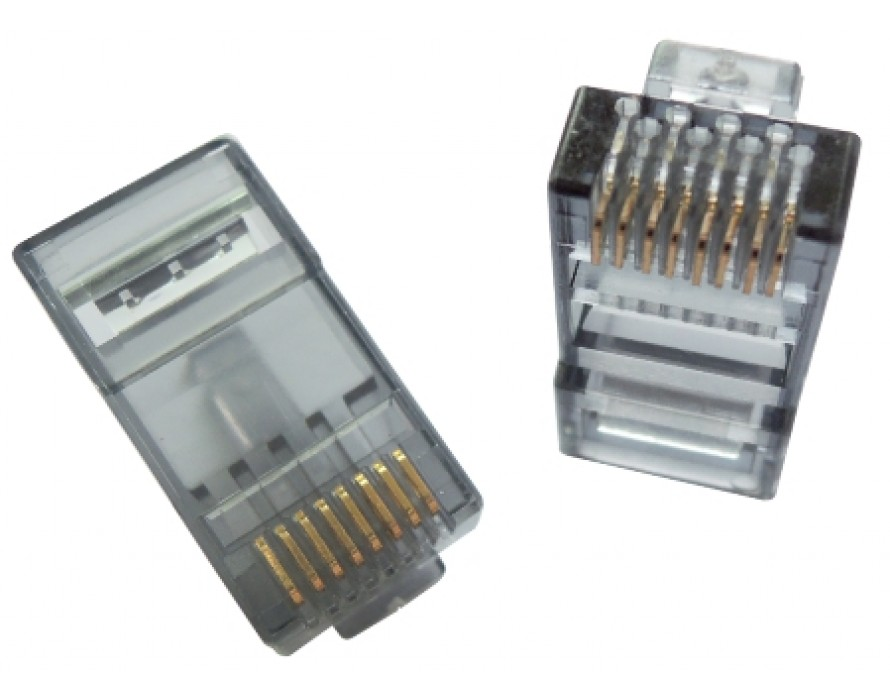 Cat6 RJ45 8P8C Double deck plug