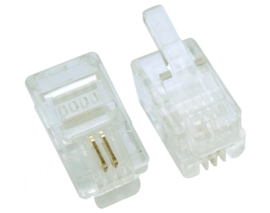 Modular Plug RJ9 4P2C