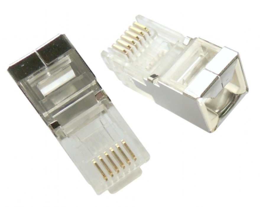Modular Plug Shielded 6P6C Super long