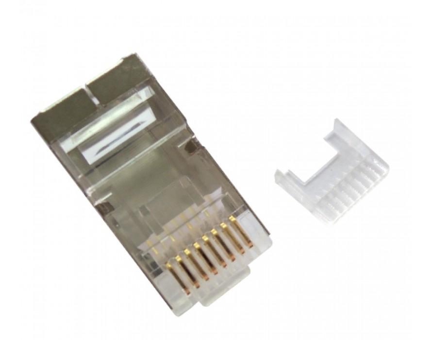 Modular Plug RJ45 8P8C with insert E,shielded