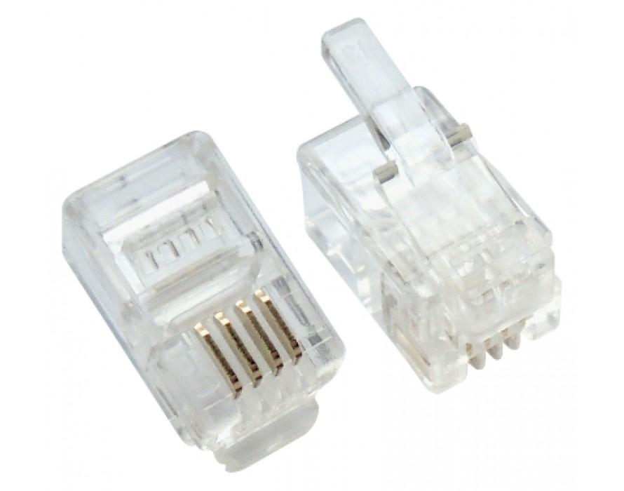 Modular Plug RJ9 4P4C