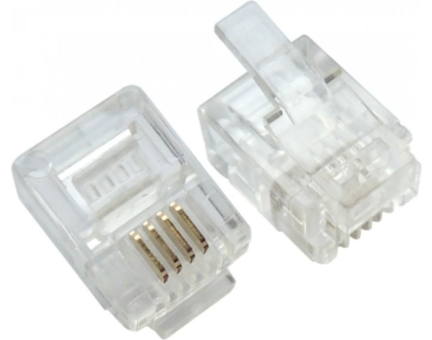 Modular Plug RJ11 6P4C
