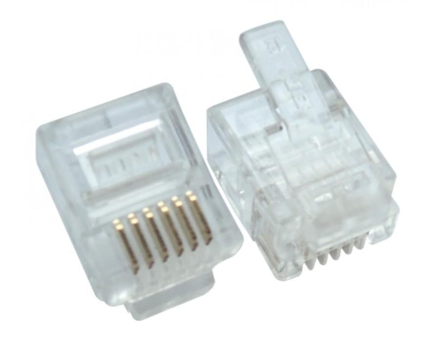 Modular Plug RJ12 6P6C