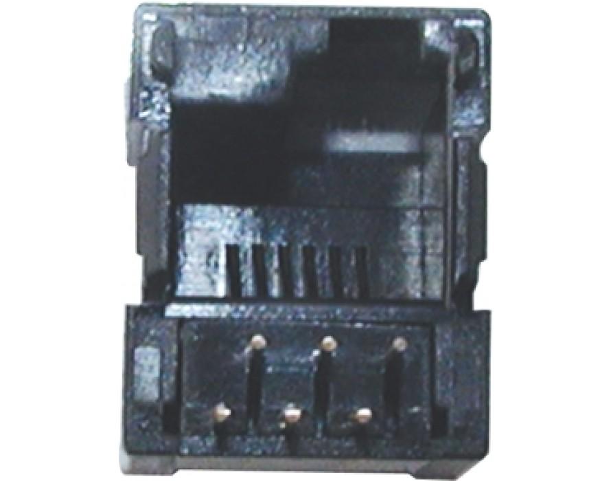 Modular Jack 044-6P right DEC Bottom entry