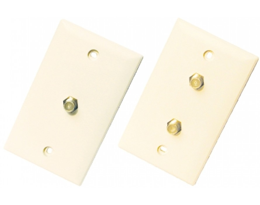 F Connector Wall Plate 1219/1220