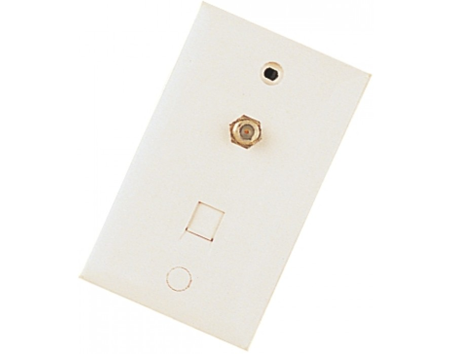 Voice+F female Wall Plate 1218