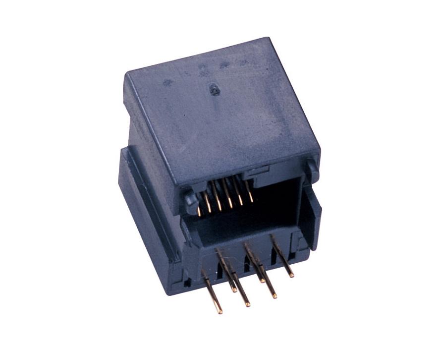 Bottom Entry modular jack