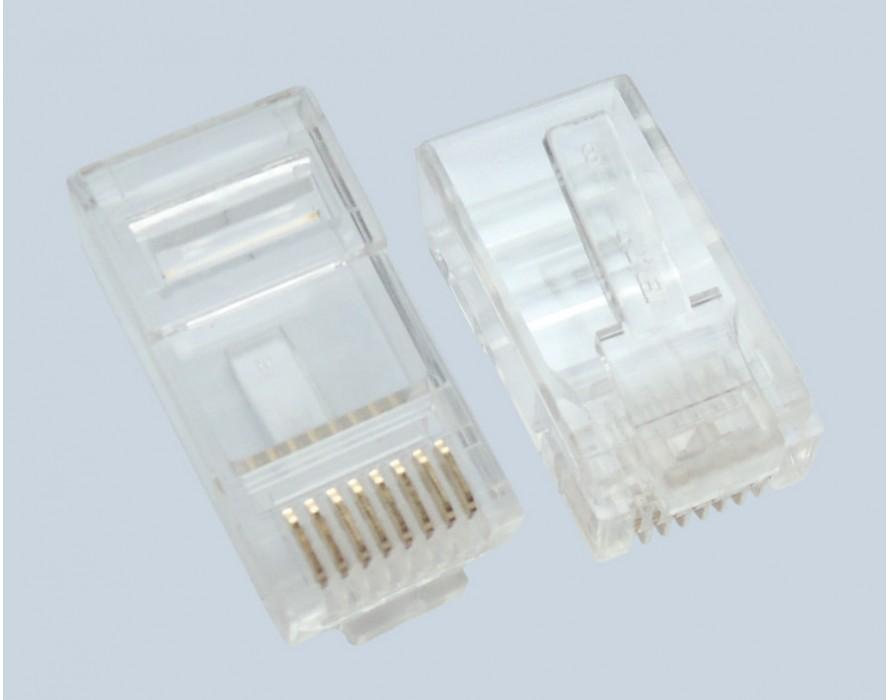 Moular Male Connector RJ45 8P8C Plug