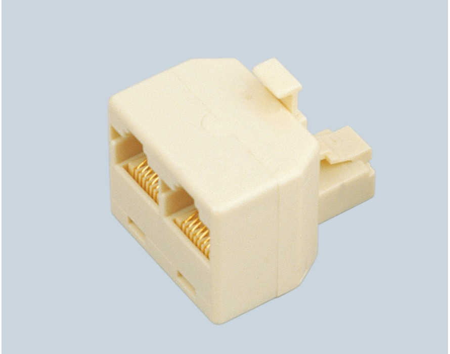 Male to Female 267-2 Ports Adapters