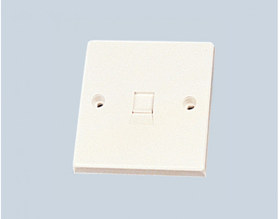 86X86 UK wall mount face plate